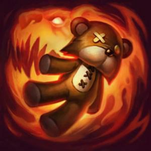 불타는 곰인형