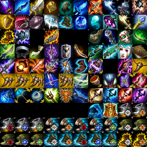 League Of Legends Item Icons Download