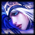 Anivia looks like                                                 Ashe - Champion similar