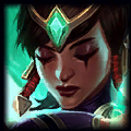 Morgana looks like                                                 Karma - Champion similar