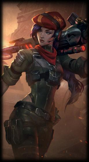 Caitlyn (Piltover Şerifi) 1 numaralı kostümü