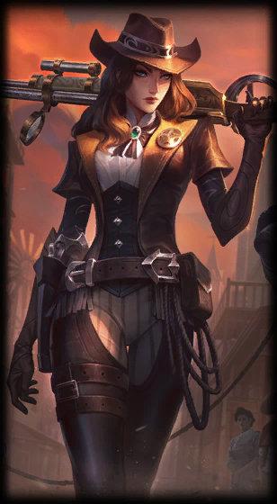 Caitlyn (Piltover Şerifi) 2 numaralı kostümü