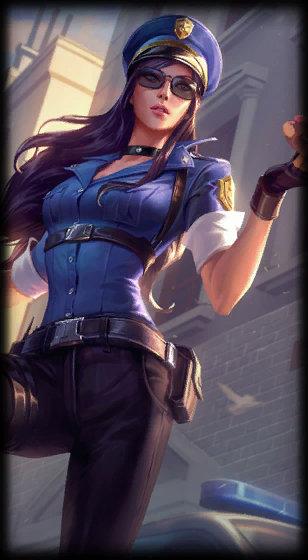 Caitlyn (Piltover Şerifi) 5 numaralı kostümü