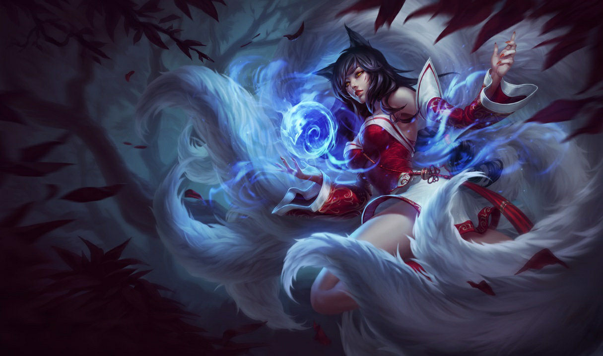 Sona, the Nine-Tailed Fox
