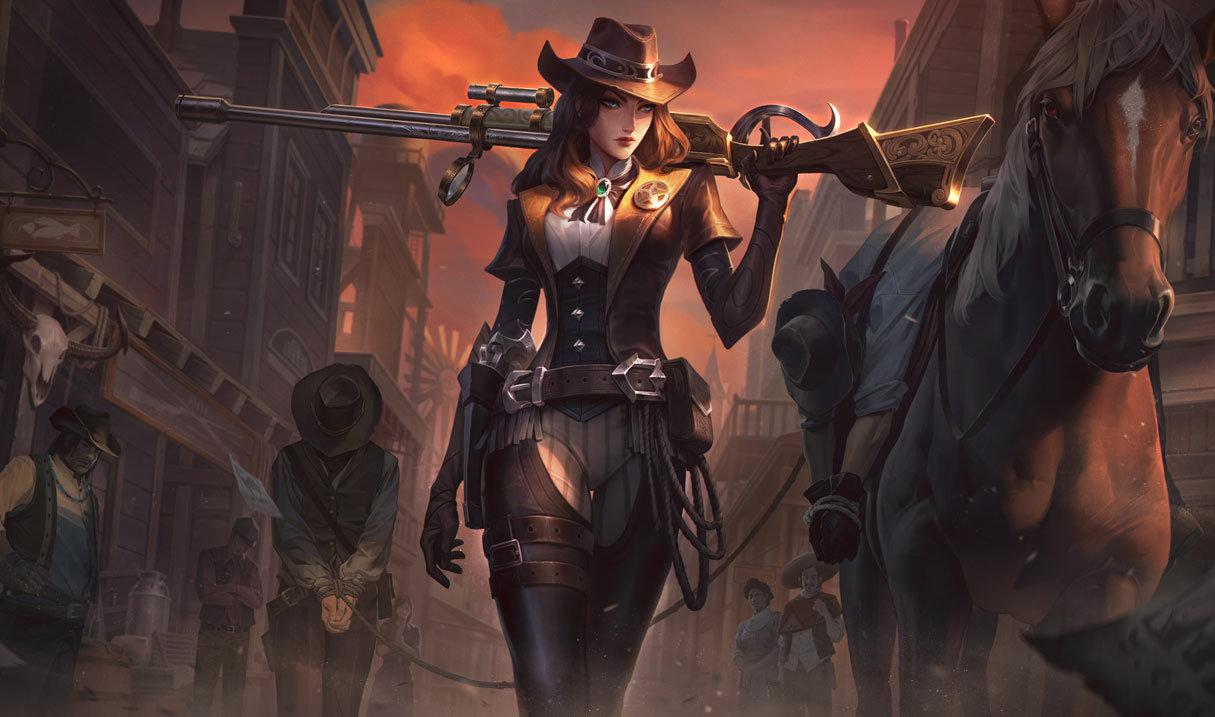 Caitlyn Sheriff Skin