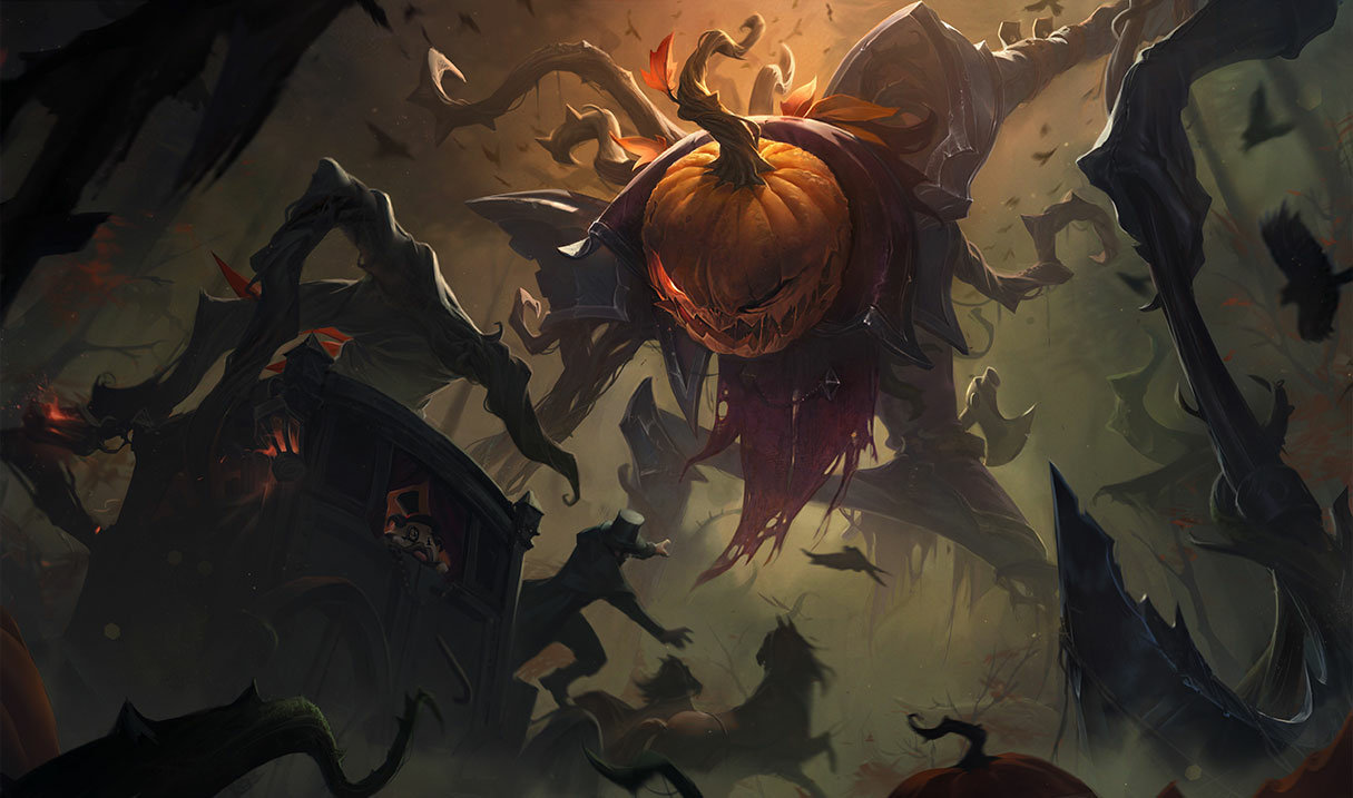 Pumpkinhead Fiddlesticks