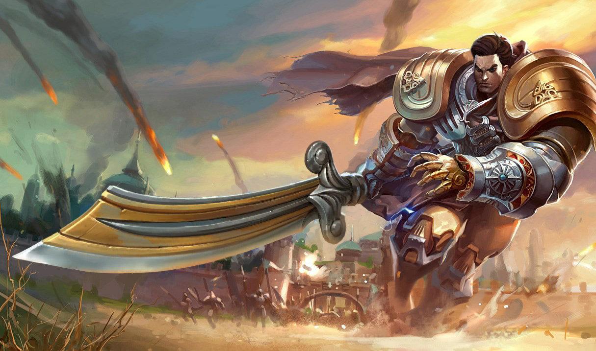 Пустынный воин Гарен, Пустынный воин Гарен