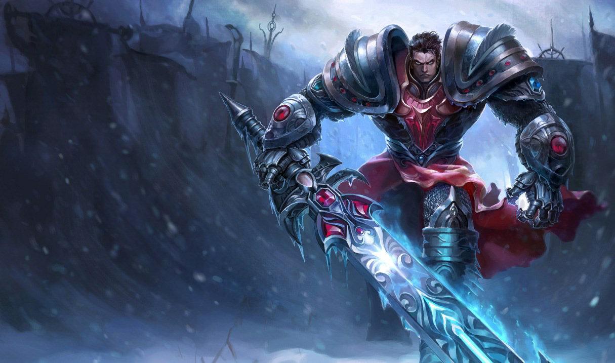 Темный рыцарь Гарен, Темный рыцарь Гарен
