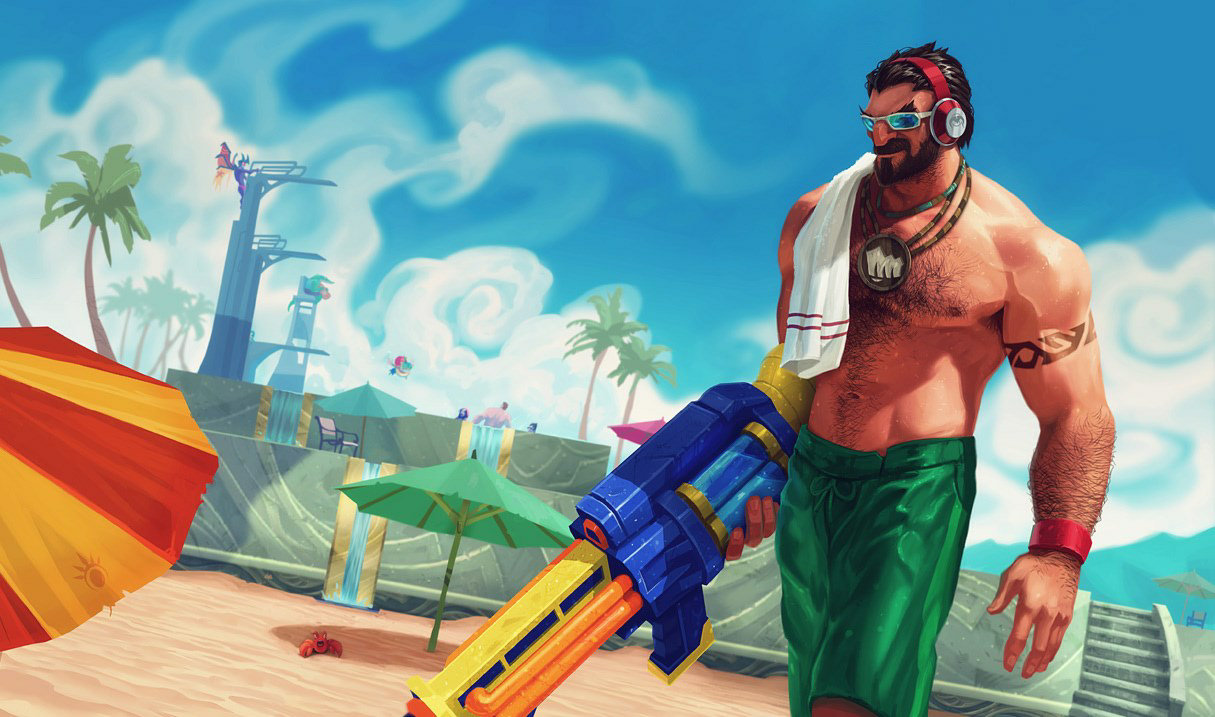 Pool Party Graves