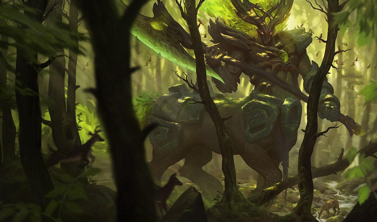 Дух леса Гекарим, Дух леса Гекарим