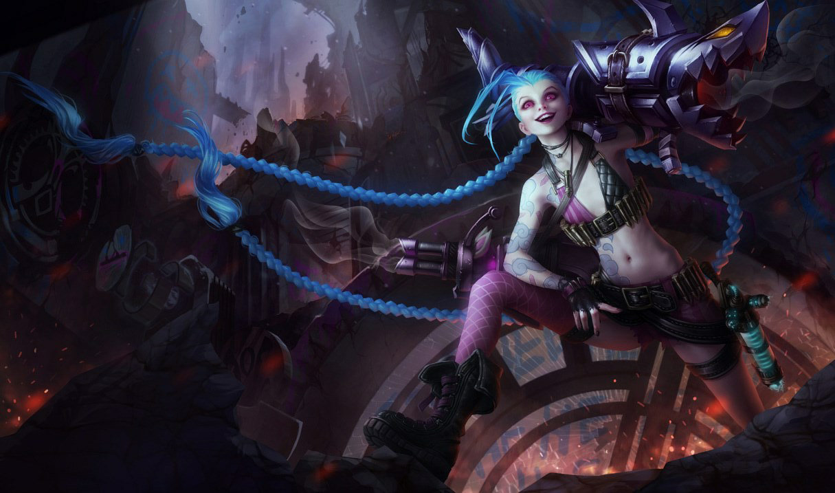 how to play jinx lol