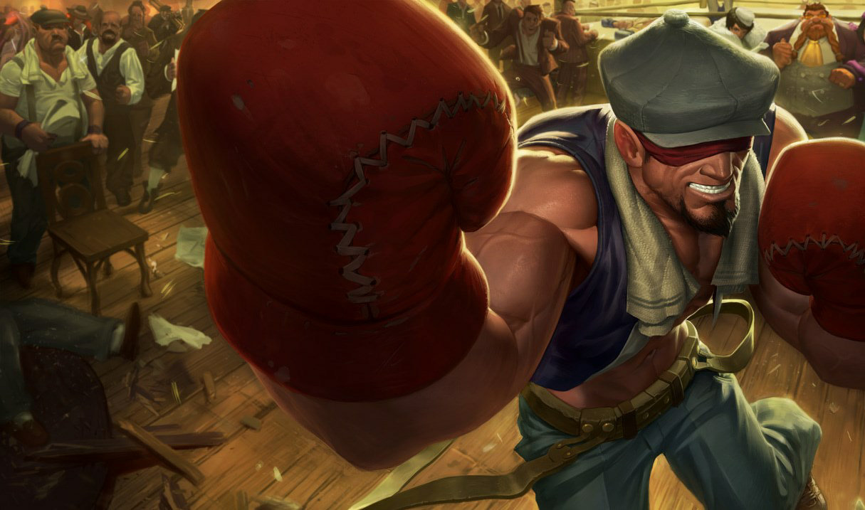 Knockout Lee Sin