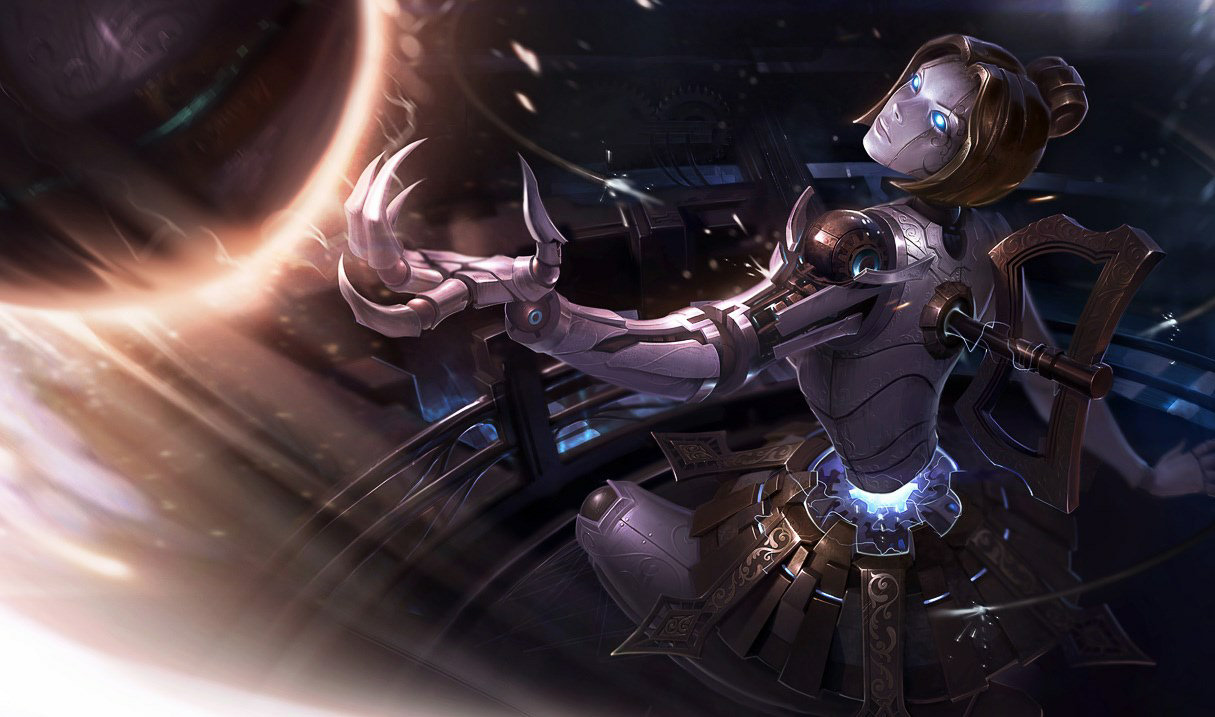Orianna League Of Legends Orianna Orianna Splash Art