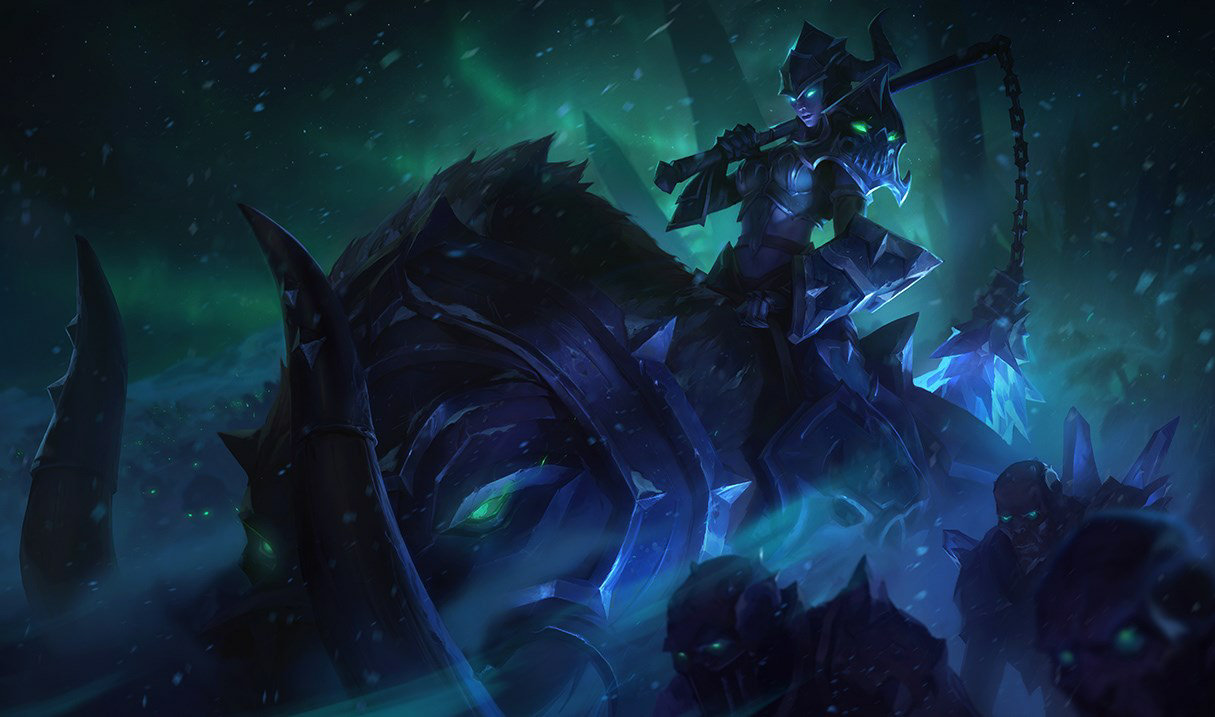 Темная всадница Седжуани, Темная всадница Седжуани