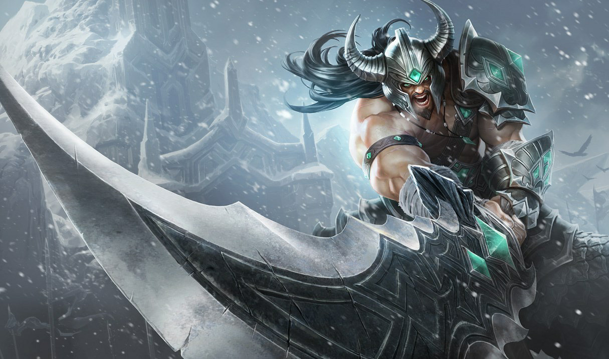 en game info champions tryndamere