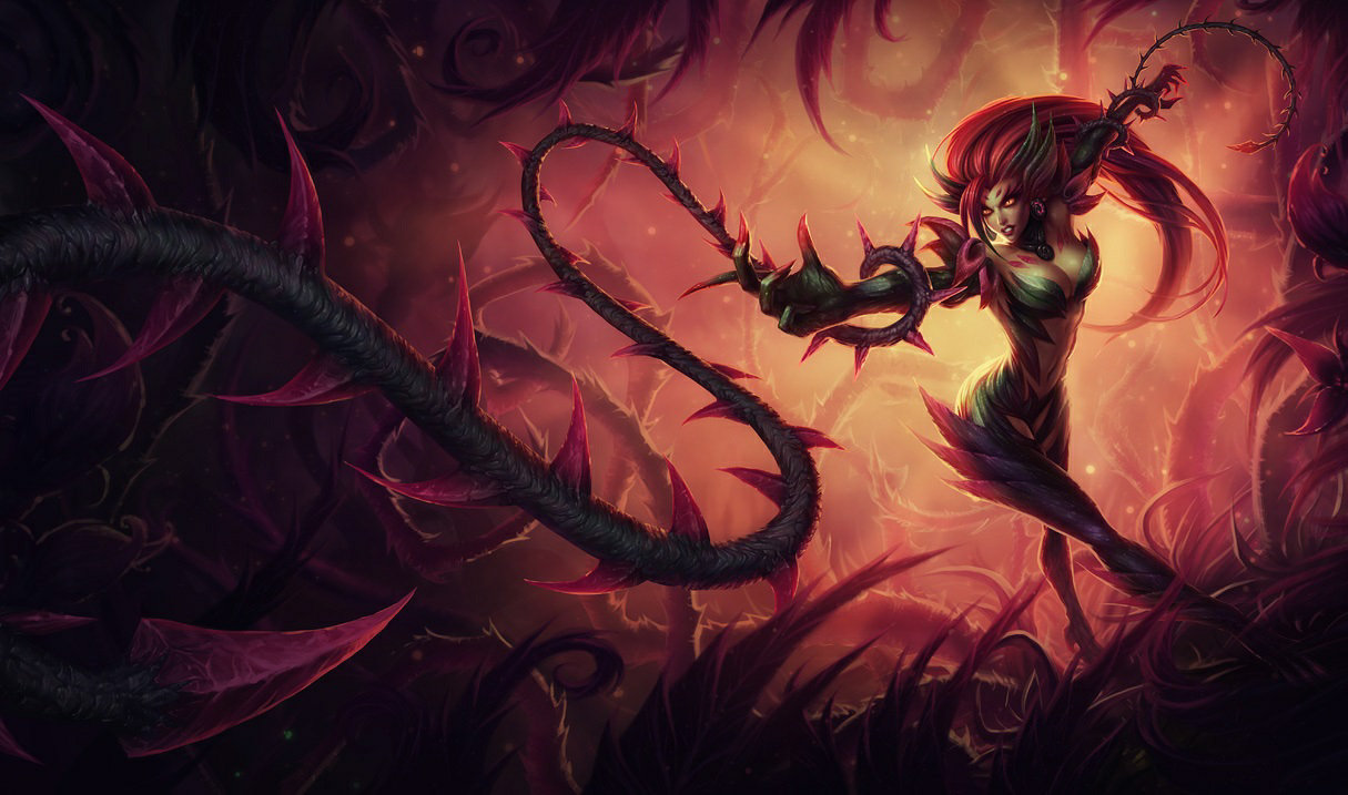 zyra league of - photo #1