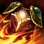 Capa de fuego solar