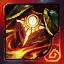 Capa de fuego de forja