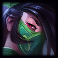 Team White Girl Top Akali