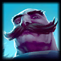 SKT1 ZaunSpartan - Sup Braum 9.9 Rating