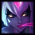 a boosted smurf Jng Evelynn