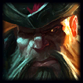 Crown on bush Top Gangplank