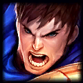 me hit minion Top Garen