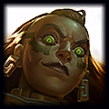 Clear Wafes Top Illaoi