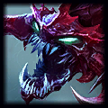 Chris is noob Top Cho'Gath