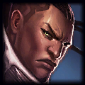 KR i carry lane Mid Lucian