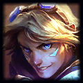 Egirl on League Bot Ezreal