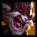 CaptBear Top Kled