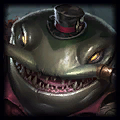 Cute Gangplank Top Tahm Kench