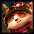 White Silk Top Teemo