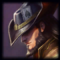Report gangplank - Mid Twisted Fate 1.5 Rating