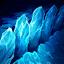 氷河の裂溝