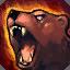 Posición del oso