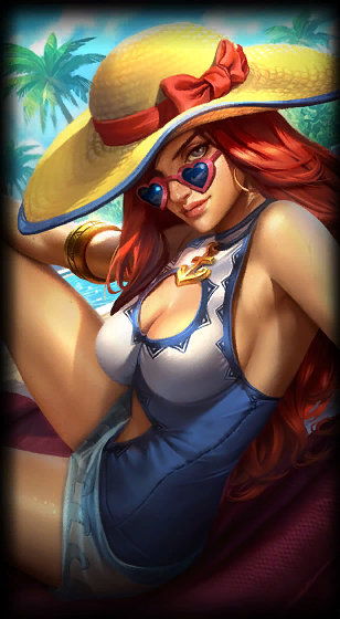 Miss Fortune Veraniega
