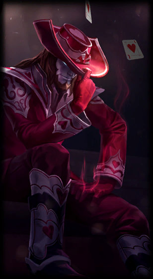 Jack of Hearts Twisted Fate
