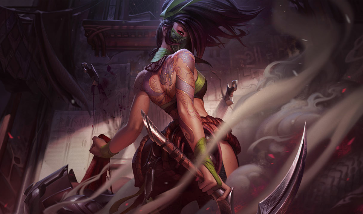Akali, top lane champion