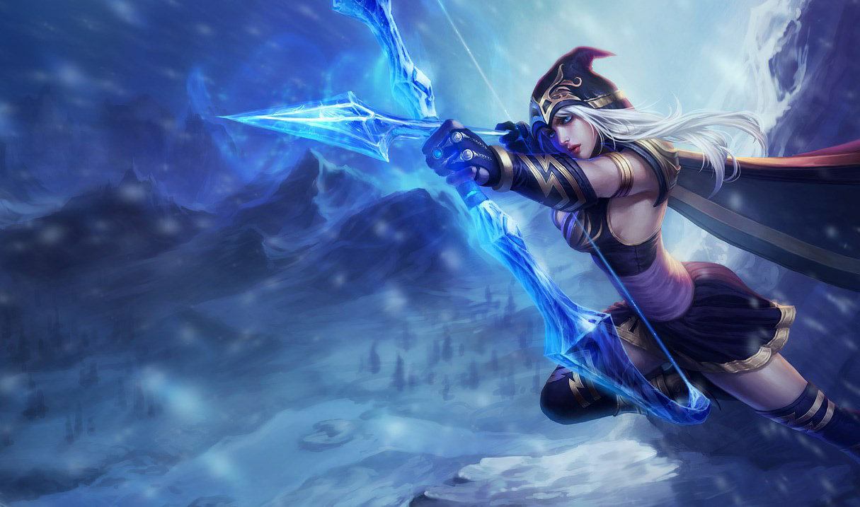 Ashe, best ADC champion