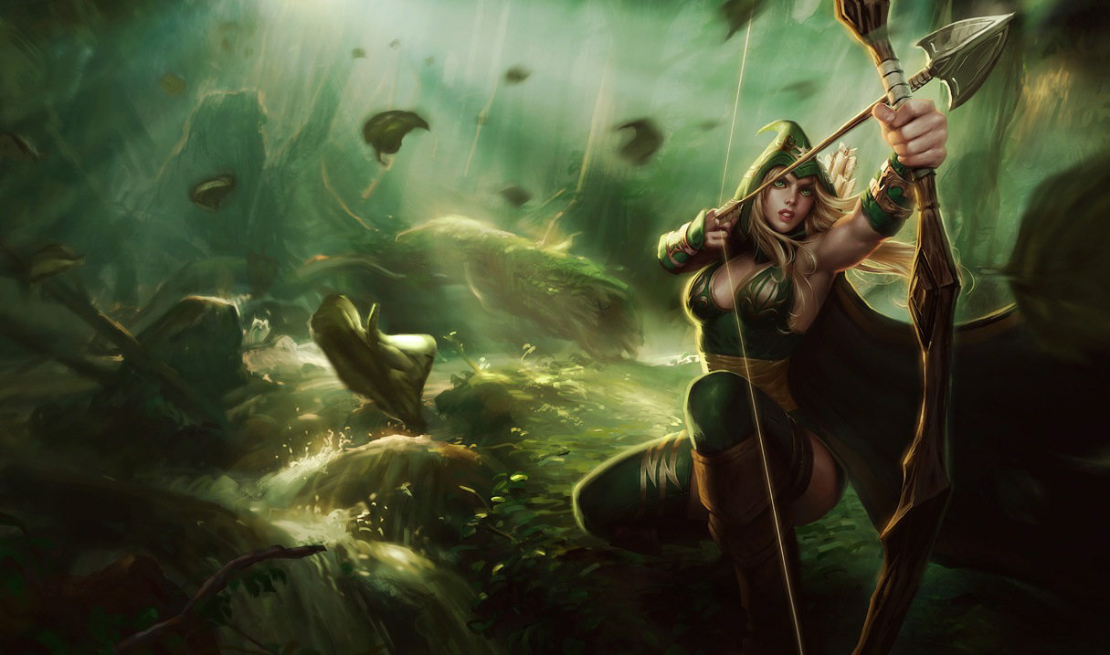 Ashe Bosque de Sherwood
