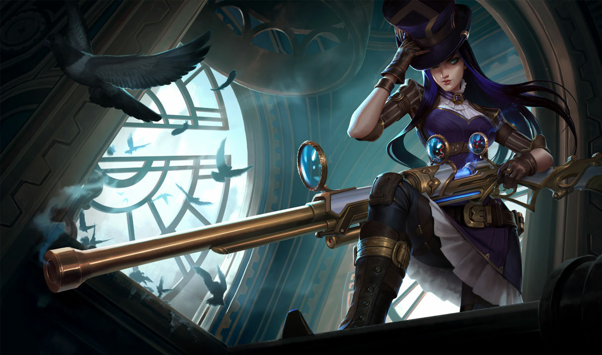 Image result for caitlyn league of legends