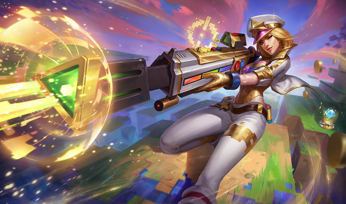 Caitlyn, the Sheriff of Piltover - League of Legends