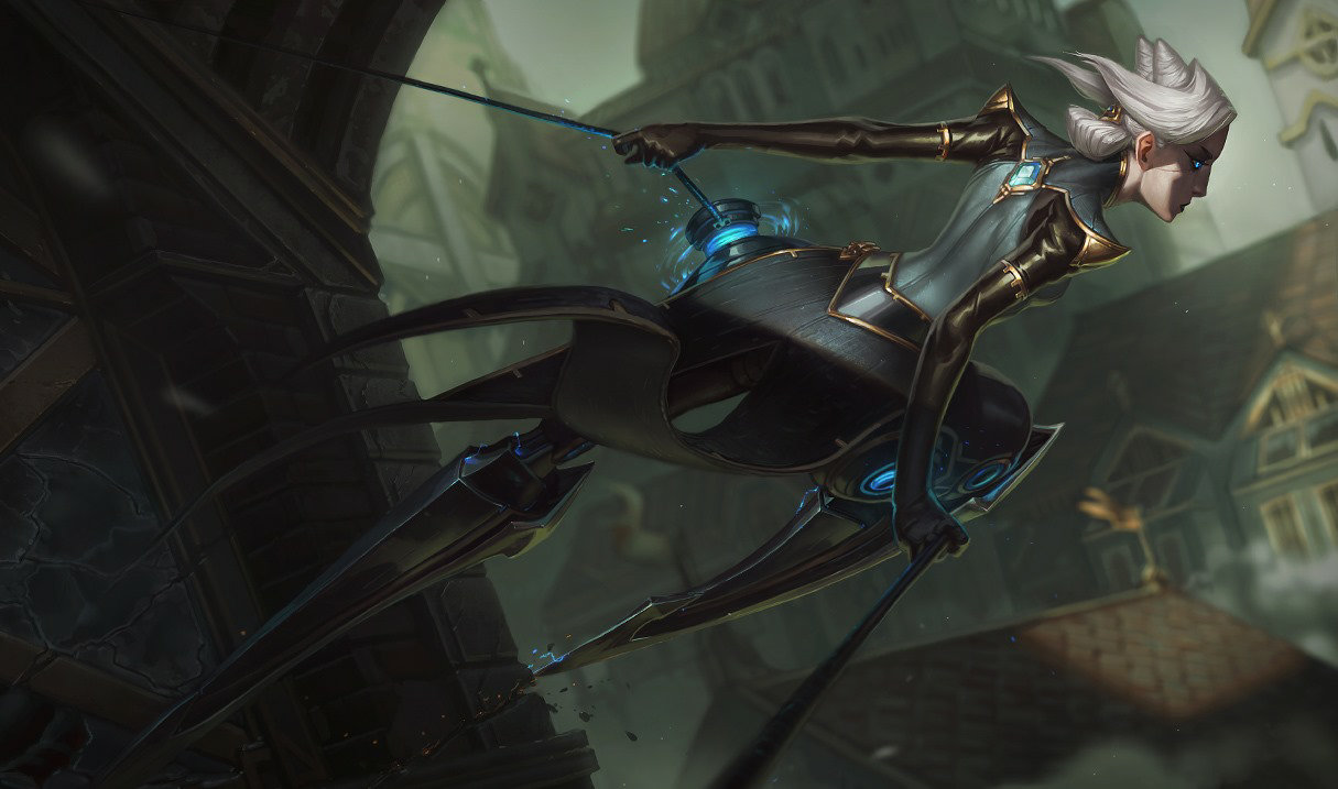 Camille, top lane champion