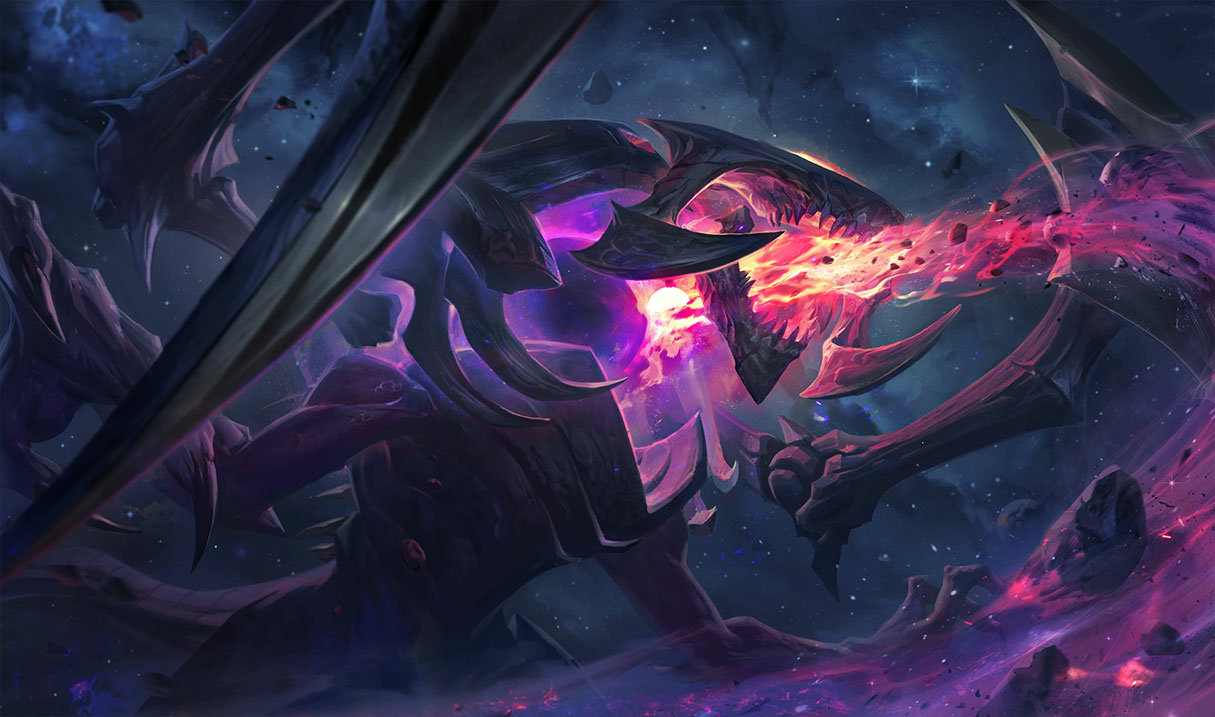 Cho'Gath, the Terror of the Void - League of Legends