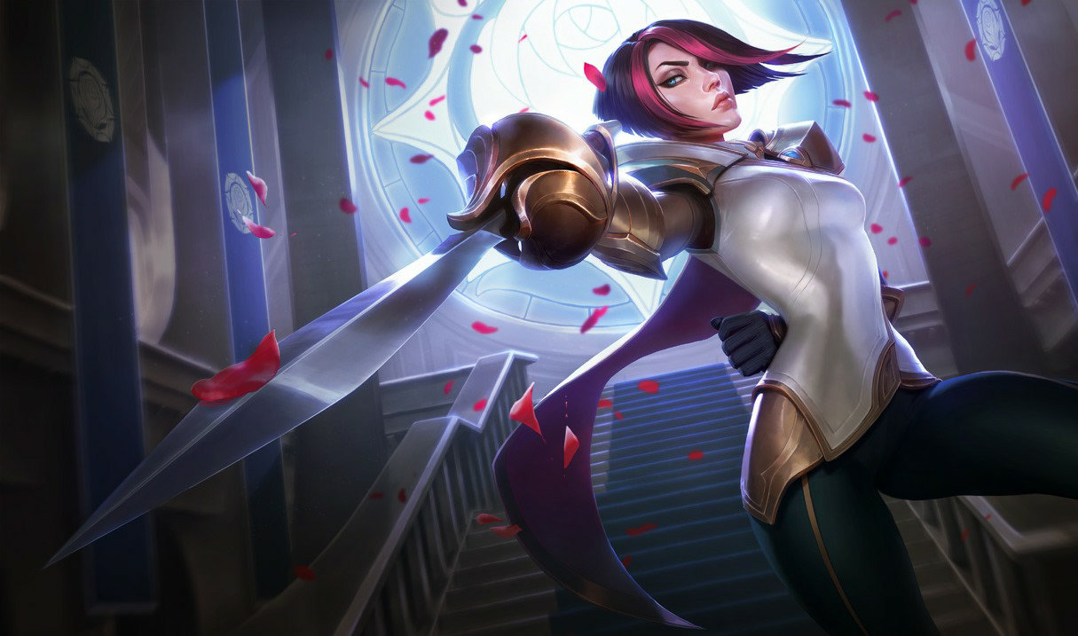 Fiora, top lane champion