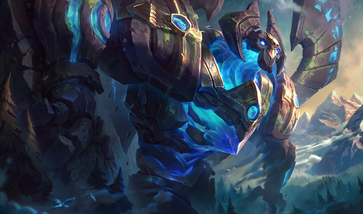 Galio, the Colossus - League of Legends