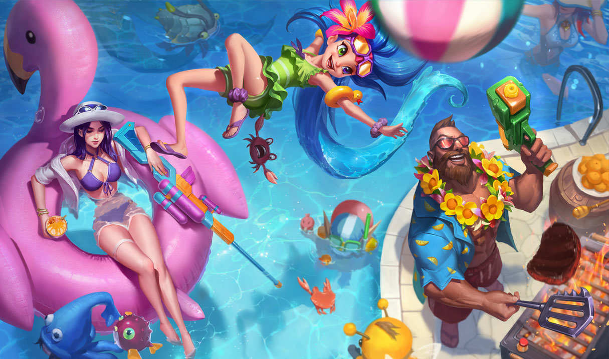 Pool Party Gangplank