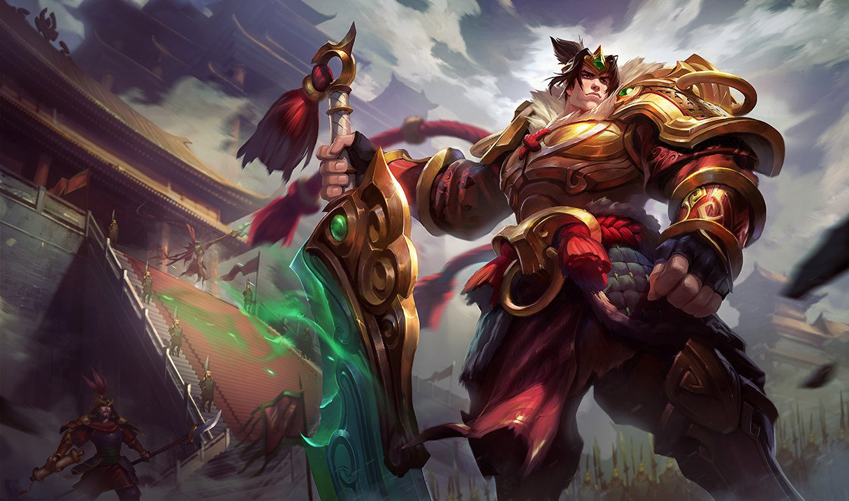 Warring Kingdoms Garen